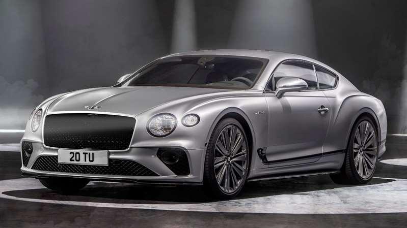 El Bentley Continental GT Speed 2022