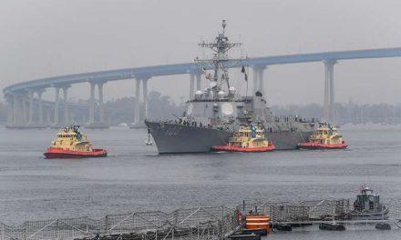 Misteriosos drones sobrevolaron varias veces buques de guerra estadounidenses frente a California