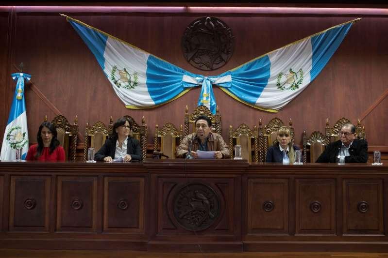 Guatemala inicia polémica renovación de Corte Constitucional