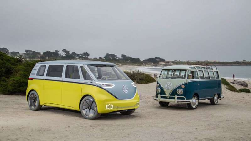 Volkswagen promete que sus vans, incluida el Microbus, ofrezcan conducción autónoma