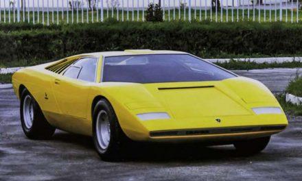 El Lamborghini Countach LP500, el prototipo futurista que dio paso a una leyenda