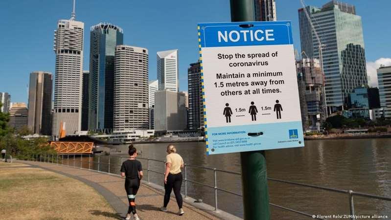 Australia confina tercera ciudad más poblada por siete contagios