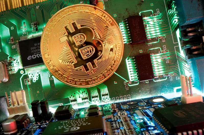 #Bitcoin salta a máximo de una semana, por encima de 58.000 dólares