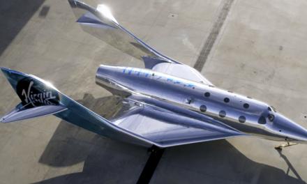 Virgin Galactic muestra la primera de sus espectaculares naves SpaceShip III