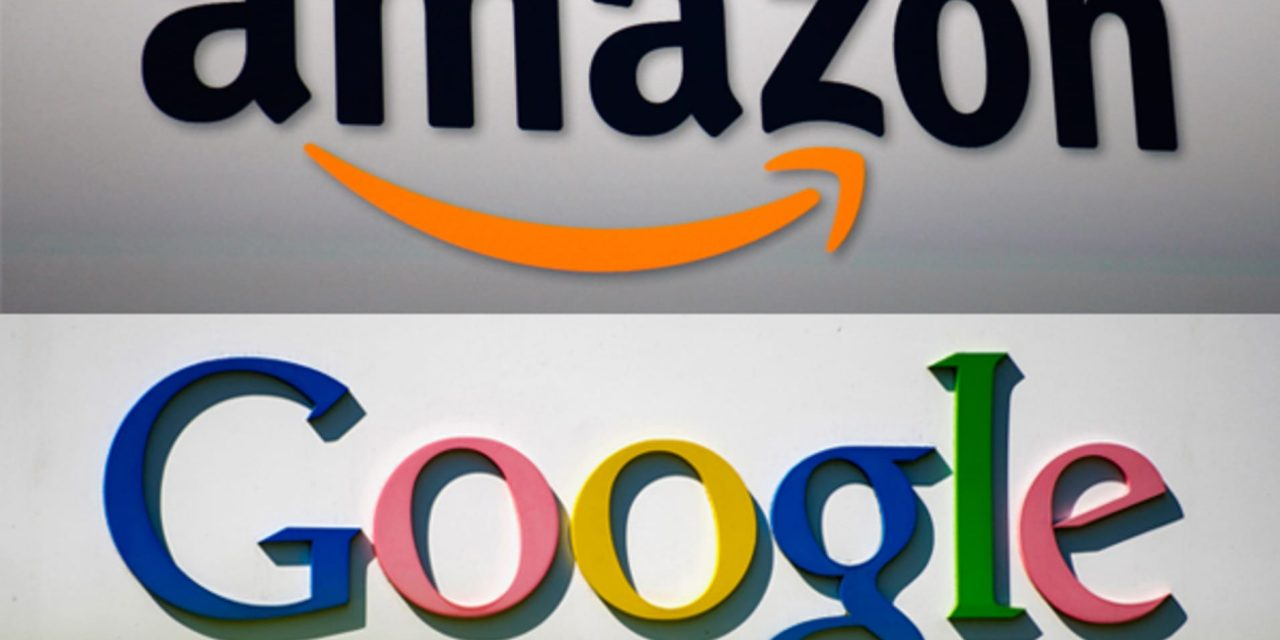 Google y Amazon en el ojo del huracán; gastan millones en lobby