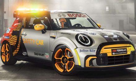MINI Electric Pacesetter es el nuevo safety car de la Fórmula E