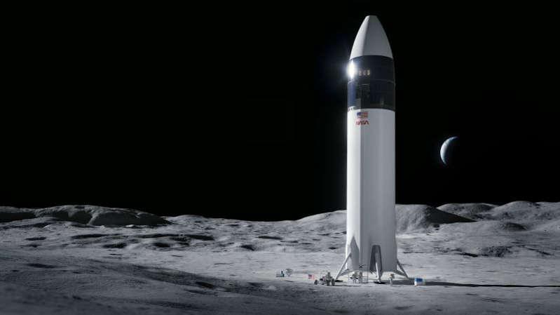 La NASA elige la Starship de SpaceX para aterrizar en la Luna