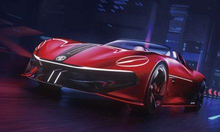 MG Cyberster Concept: un súper auto eléctrico cada vez más cerca de la realidad