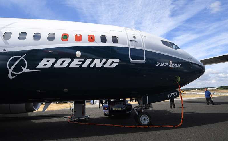 Boeing avisa de un posible problema eléctrico en ciertos 737 MAX