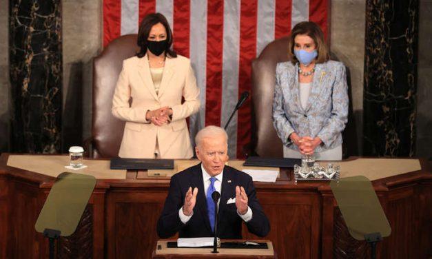 Biden anunció en su discurso ante el Congreso una inversión de $4 billones para crear empleos