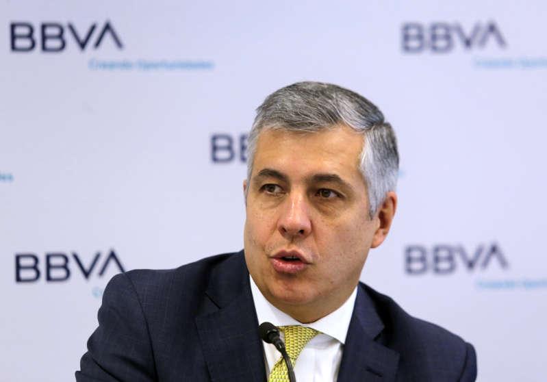"""El BBVA advierte de """"menor apetito"""" para invertir en México"""