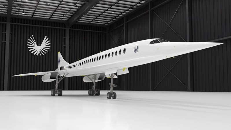 Boom Supersonic: el avión que aspira a ir en 4 horas a cualquier lugar del mundo