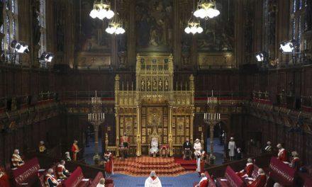 Gobierno británico esboza agenda legislativa postpandemia