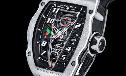 RM 40-01 Automatic Tourbillon McLaren Speedtail: el reloj más extremo creado por Richard Mille