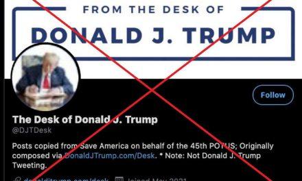 Trump abre nueva cuenta en Twitter… pero lo vuelven a vetar