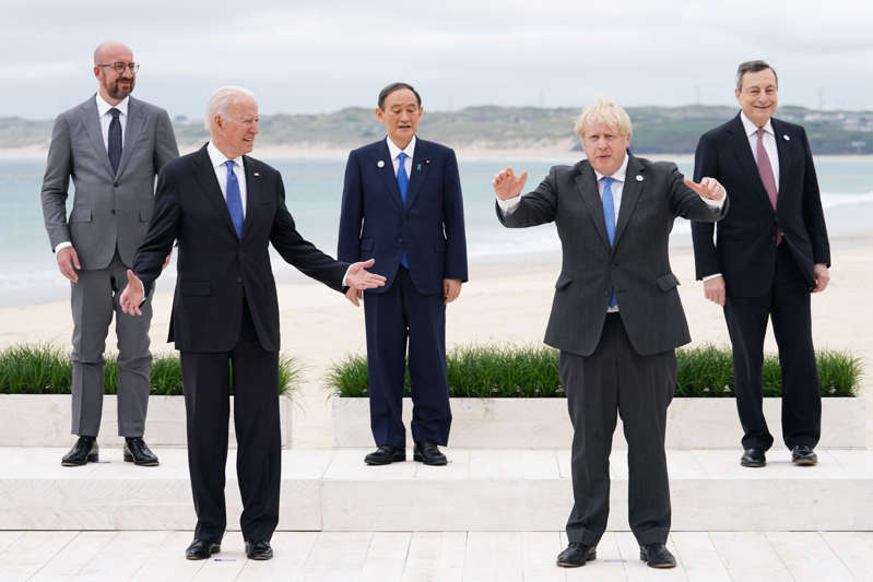 Biden se afana en restaurar alianzas en el G7 e invita a Merkel a la Casa Blanca