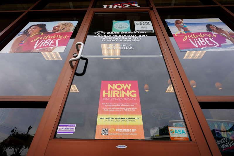 Estados Unidos tiene una cantidad récord de empleos, pero muchos ahora prefieren trabajar desde casa