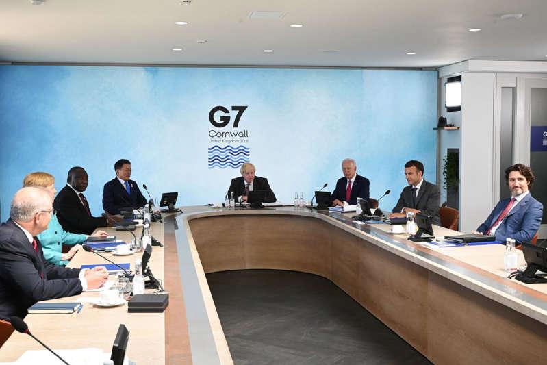 El G-7 prepara un superproyecto de infraestructura para competir con China