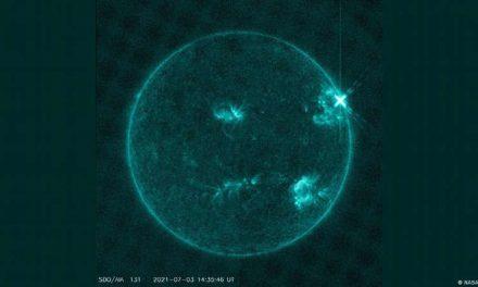 Una gran llamarada solar de clase X acaba de impactar en la Tierra, la más potente desde 2017