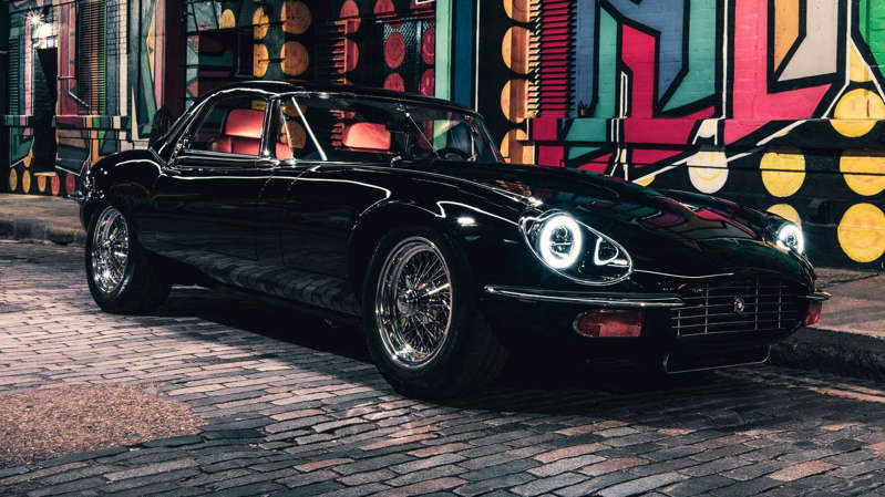 Jaguar E-Type Unleashed: un precioso restomod con motor V12