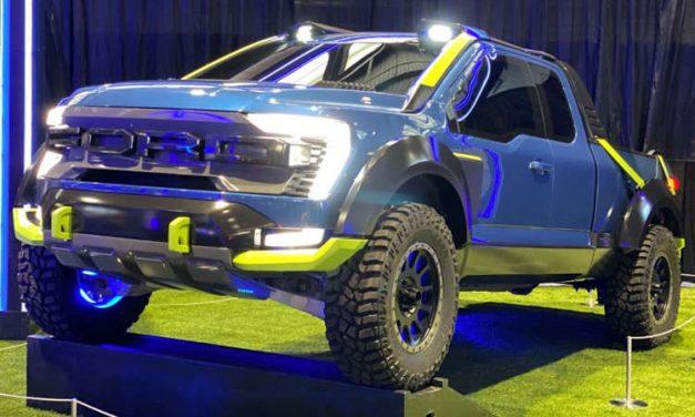 Ford F-150 Rocket League Edition es un pickup traído del futuro