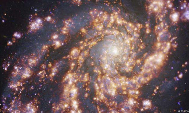 Captan imágenes de galaxias cercanas que ayudarán a entender la formación de las estrellas