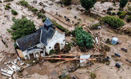 Reportan al menos 125 muertos y 1,300 desaparecidos por inundaciones en Alemania y Bélgica