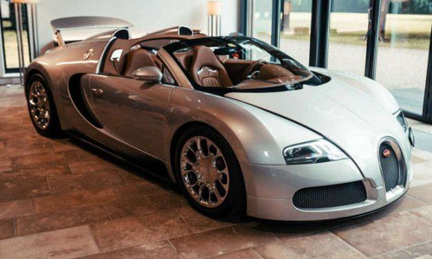 Bugatti necesitó cuatro meses para restaurar este Veyron de 2008