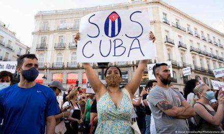 Cuba, entre sanciones y pedidos de ayuda