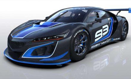El Acura NSX GT3 Evo22 competirá en circuitos de todo el mundo