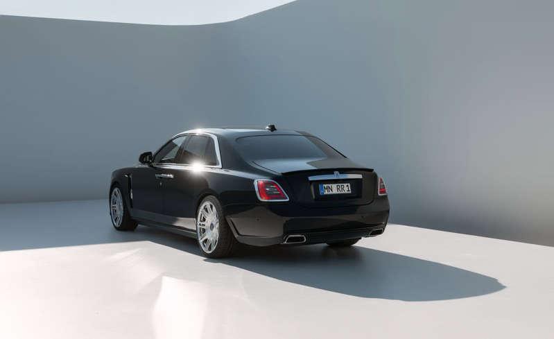 El preparador alemán Novitec se la juega con el nuevo Rolls-Royce Ghost