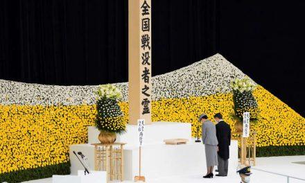 Japón conmemora 76 años de su rendición en la Guerra Mundial