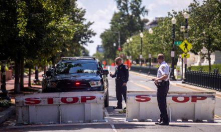 Se rinde el hombre que desató una amenaza de bomba cerca del Congreso de Estados Unidos