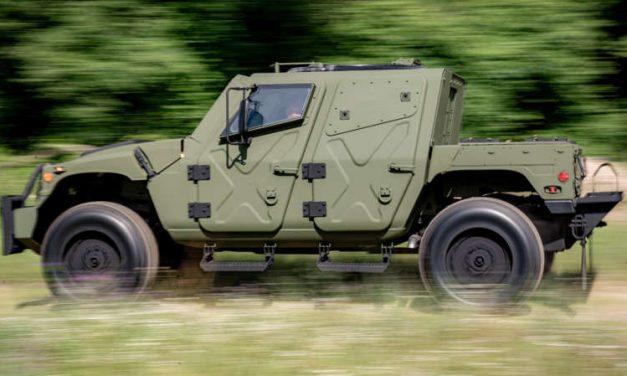 HUMVEE NXT 360: un vehículo táctico militar lleno de poder y tecnología