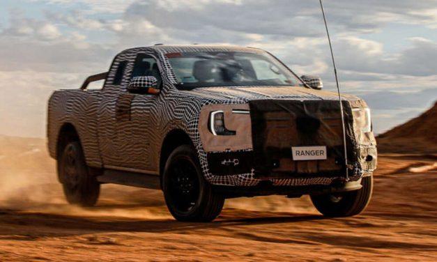 Primeras imágenes y detalles del nuevo Ford Ranger 2022