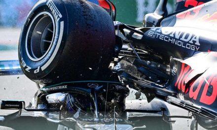 El halo de seguridad le salvó la vida a Lewis Hamilton