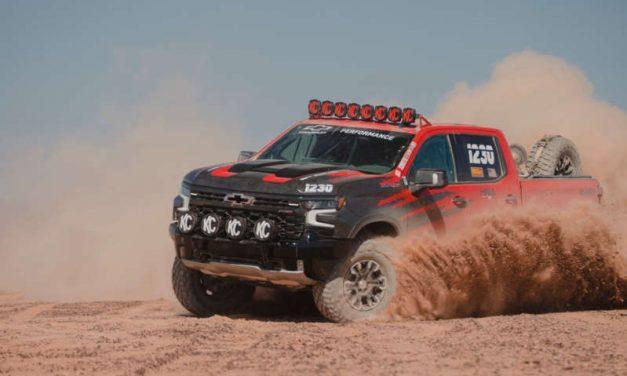 La nueva Chevy Silverado ZR2 ya se prueba en las carreras del desierto