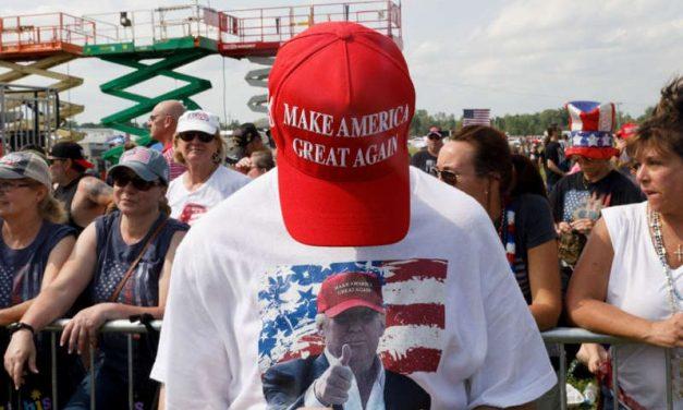 Partidarios de Trump quieren dividir el país en dos