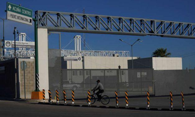 Estados Unidos reabrirá fronteras terrestres en noviembre